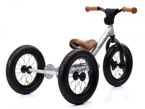 KLEINE FLITZER Trybike steel 3 wheeler, Silber