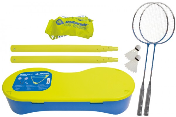 SCHILDKRÖT FUN SPORTS Badminton Set Compact