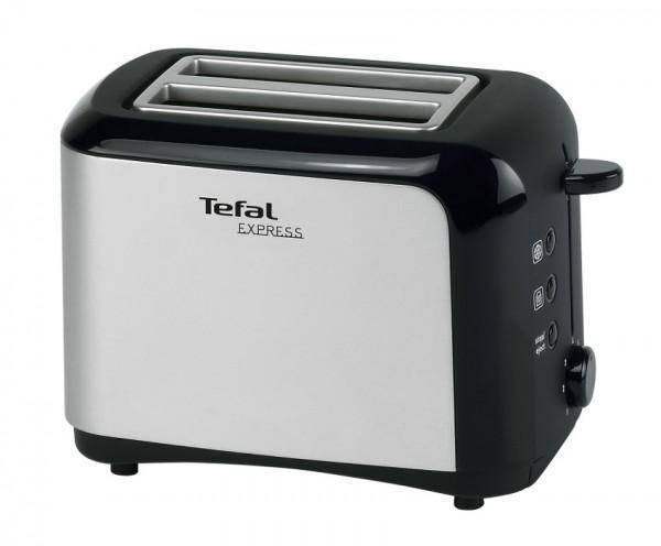 TEFAL Toaster Dialog Edelstahl TT3565