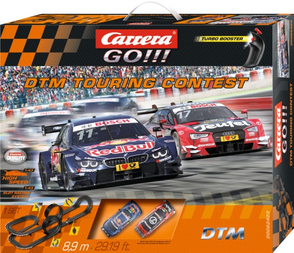 CARRERA GO!!! Autorennbahn DTM Touring Contest