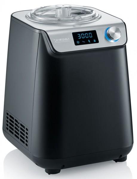 SEVERIN Kompakt-Eismaschine und Joghurtbereiter mit Kompressor