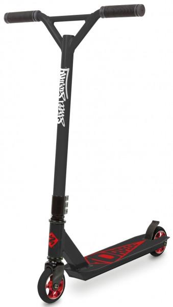 STREETSURFING Torpedo Stunt Scooter mit Alufelge, Black Core Red