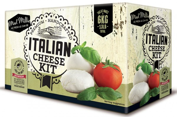 MAD MILLIE Käseset - Italian Cheese Kit