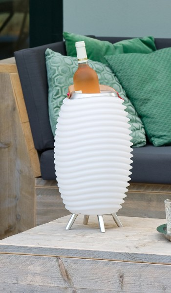 KOODUU 3in1 Small, Lautsprecher, LED-Lampe und Kühlgerät