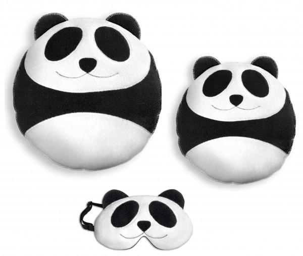 LESCHI Kuschel-Set Panda, 3-teilig