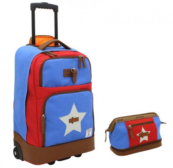 FRIEDRICH Wheelie Bag + Kulturtasche