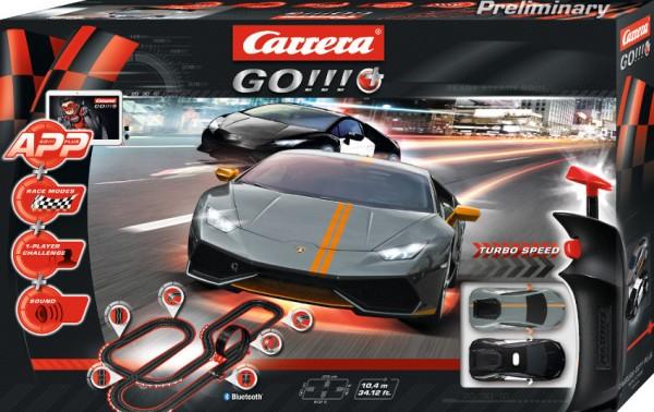 CARRERA GO!!! Autorennbahn Night Chase Polizeiset