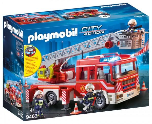 PLAYMOBIL Feuerwehr-Leiterfahrzeug