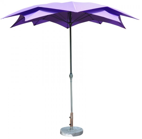LECO Schirm Blüte, violett