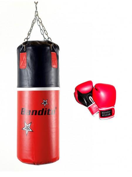 BANDITO Set Boxsack und Boxhandschuhe