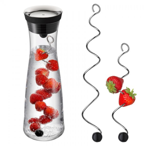 WMF Wasserkaraffe + Fruchtspieße in zwei Größen