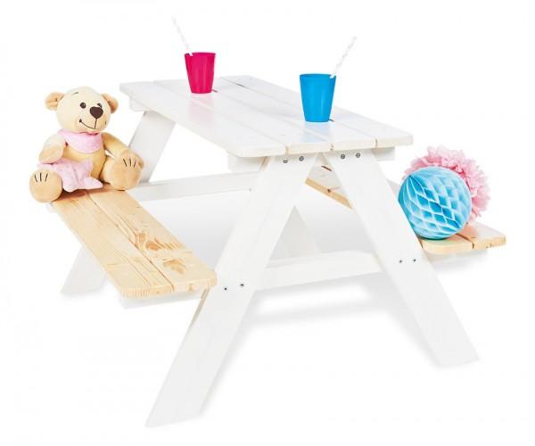 PINOLINO Kindersitzgarnitur Nicki für 4, weiß