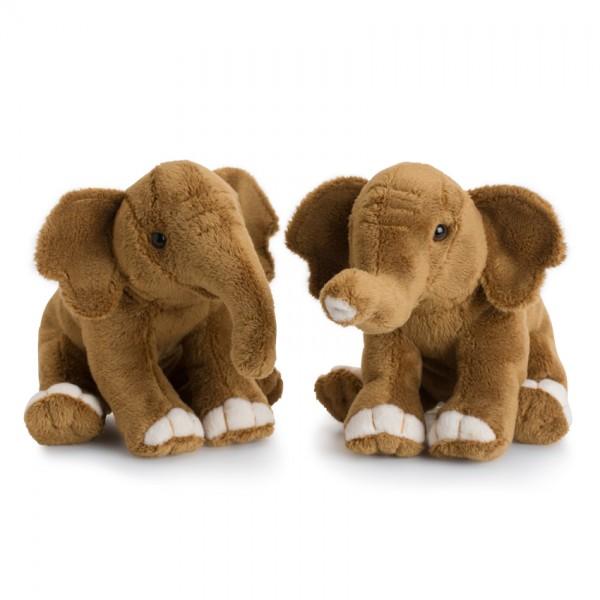 WWF Plüschtier 2er Set Afrikanischer Elefant 18cm